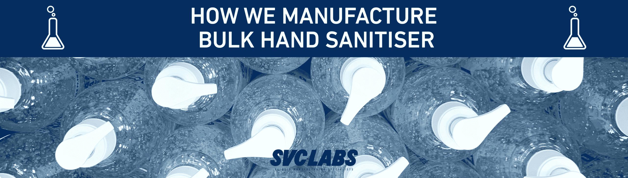 manufacturer bulk hand sanitiser