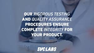 testing quality assurance supplements
