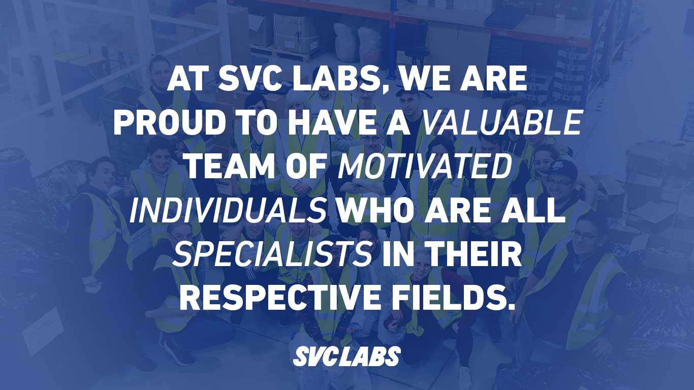the team behind svc labs